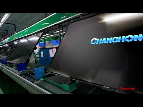 CHiQ Changhong - the factory in China where they build new super TV!