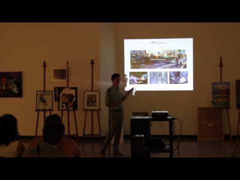 Kyle Lucks Presentation at St. Louis Artists' Guild 8-2-16