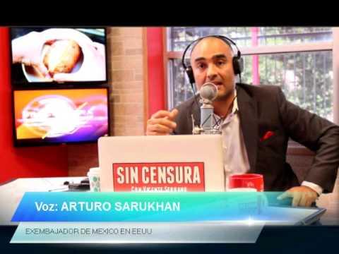 Entrevista con exembajador de México en EEUU, Arturo Sarukhán.