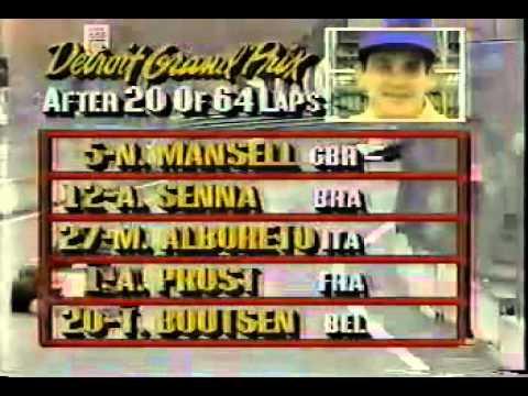 1987 Detroit Grand Prix  geil.(englisch)
