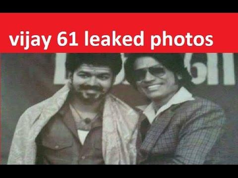 Vijay 61 film leaked theme music and photos