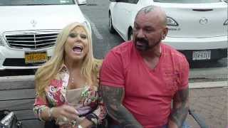 Terri & Perry Saturn in NYC 10/6/12