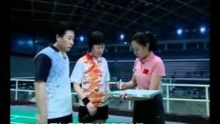 羽毛球教学 专家把脉【09】双打站位 封网技术