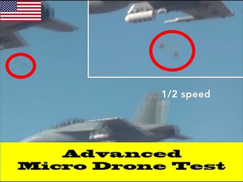 DoD Announces Successful Perdix Micro-Drone Demonstration