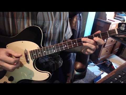 Tiny Grimes lesson on a Tenor guitar  by Tommy Harkenrider