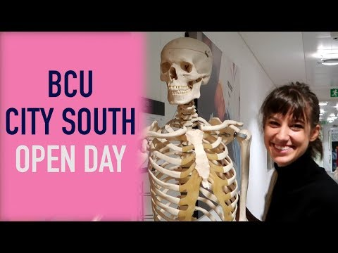 BCU City South Campus Open Day | Vlog