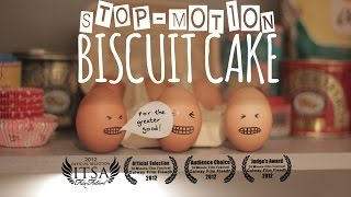 Stop-Motion Biscuit Cake