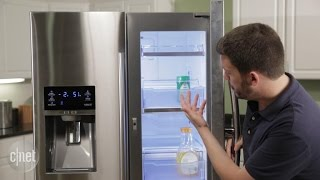 Samsung packs Food Showcase into a French door