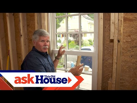How to Straighten a Window | Ask This Old House - YouTube