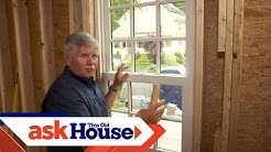 How to Straighten a Window | Ask This Old House