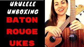 UNBOXING & DEMO : BATON ROUGE CONCERT & 8-STRING UKULELES / UR71-C / V2-T8 SUN