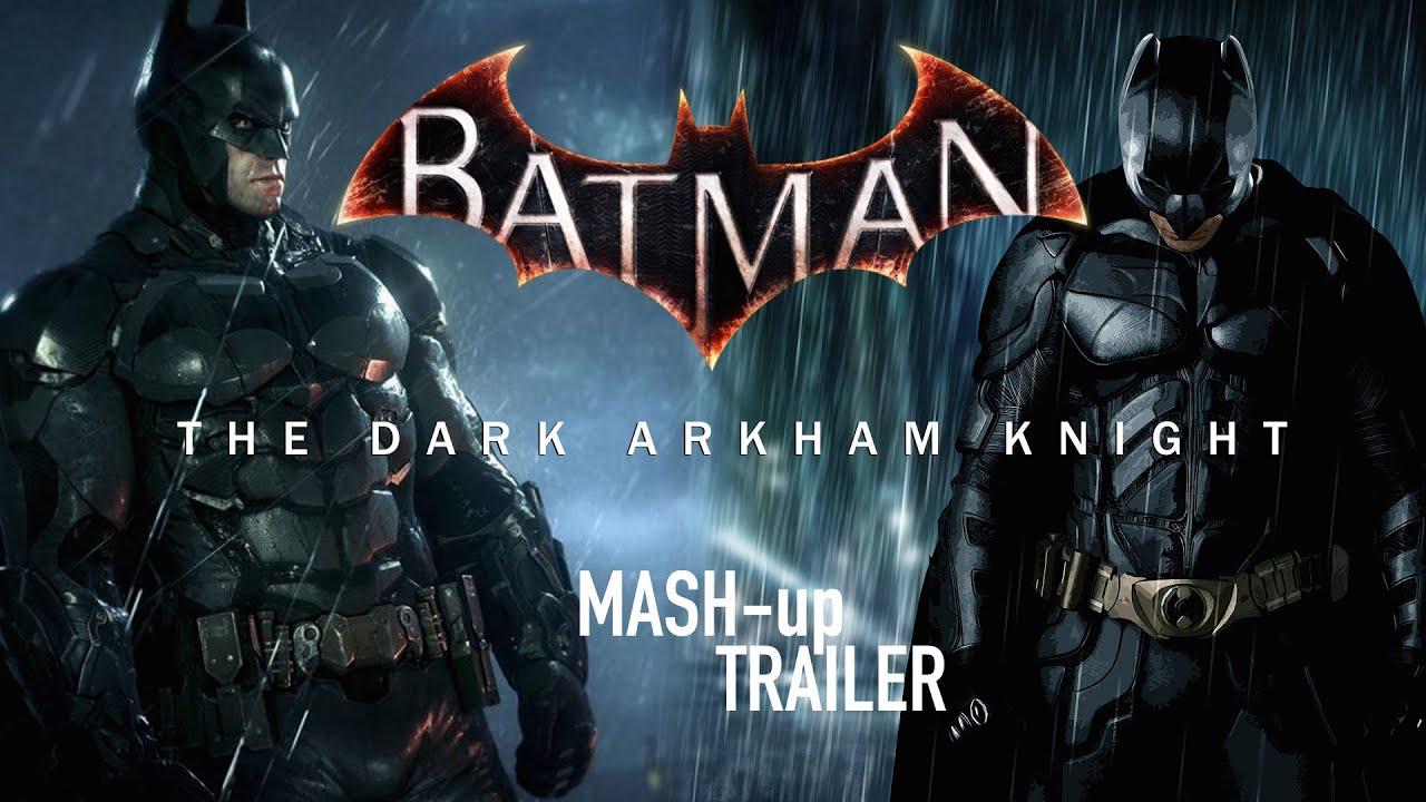 dark trilogy Batman knight