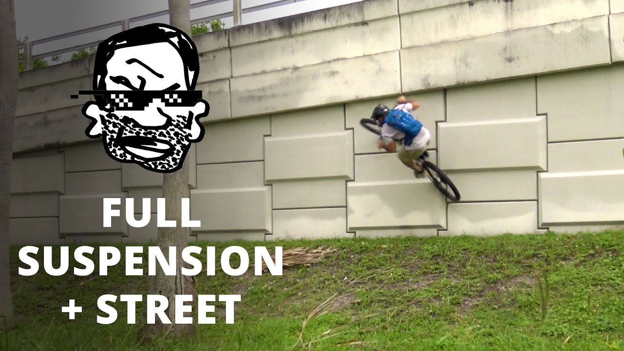 d065fd64cf6 Riding Street on a Full Suspension MTB - YouTube