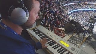 This musician's side hustle? Playing the organ at Colorado Avs games