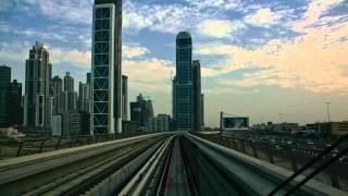 Dubai Skyscraper City Timelapse