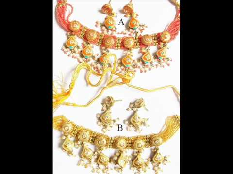 Authentic Indian Fashion jewelry made in India