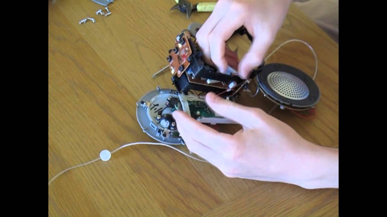 Teardown Philips Aj3600 Pojection Clock Radio Youtube