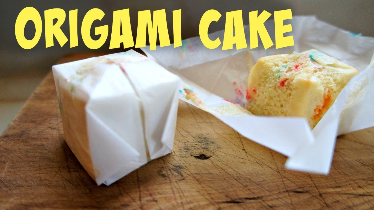 How to make cake filled origami water balloon recipe youtube jeuxipadfo Choice Image