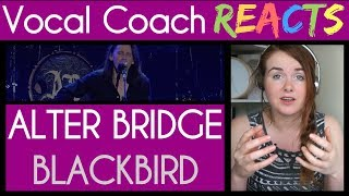"""Vocal Coach reacts to Alter Bridge Live from Wembley - """"Blackbird"""""""