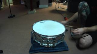 How to tune a snare drum with a TuneBot