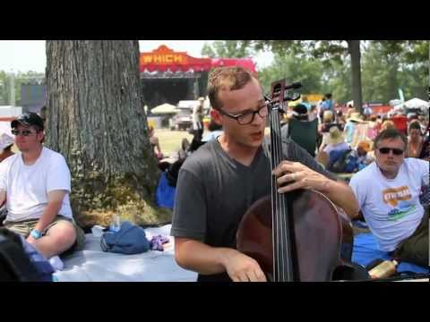 Ben Sollee - The Globe - Live at Bonnaroo 2011