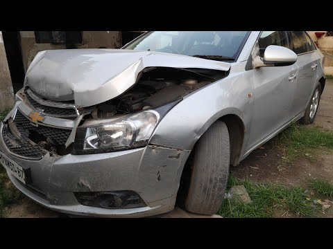 Chevrolet Cruze Accident Front Damage !