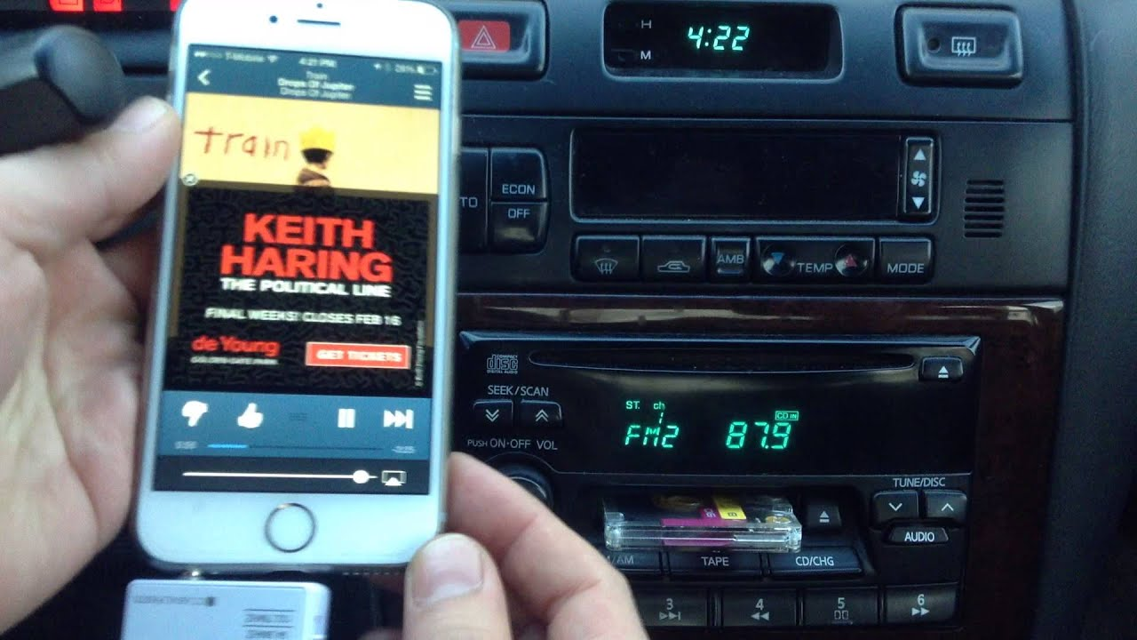 the latest 308c2 be2bc Connect iphone 6 to car stereo wirelessly - Radio Transmitter for iPhone6