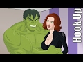 Cartoon Hook-Ups: The Hulk and Black Widow