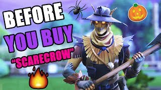 "BEFORE YOU BUY ""Hay-Man"" SCARECROW SKIN, GLIDER & EMOTE REVIEW 