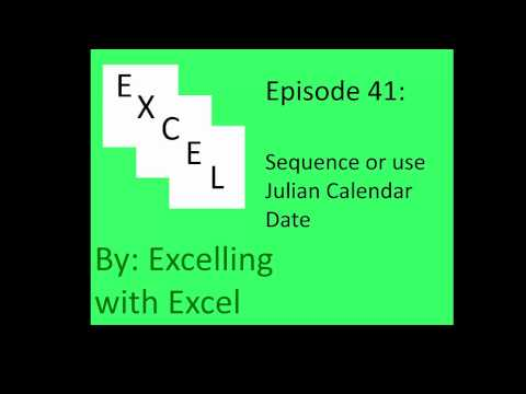 Sequencing/Julian Calendar Listings