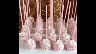 Garden Bridal Shower Dessert Table & Backdrop