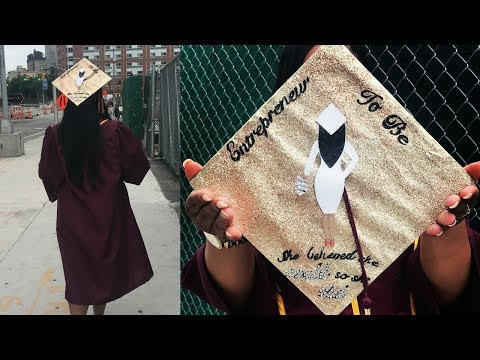DIY| Decorating My Graduation Cap