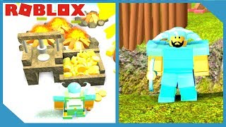 NEW CRYSTAL ARMOR + GOLD COIN FARM - ROBLOX BOOGA BOOGA
