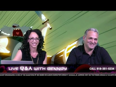 Q&A with Genndy Tartakovsky | Samurai Jack | Adult Swim