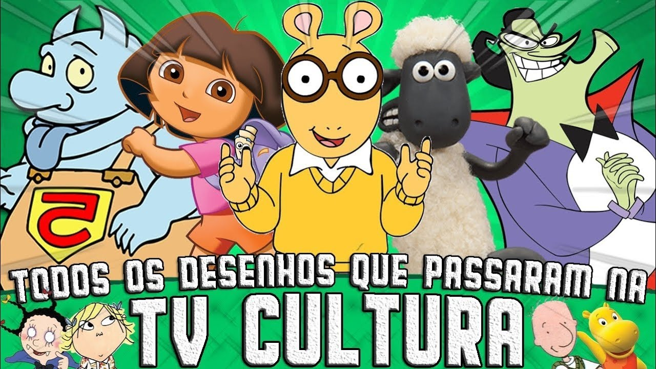 Todos Os 127 Desenhos Que Passaram Na Tv Cultura Youtube