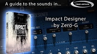 Zero-G Impact Designer - A guide to the sounds
