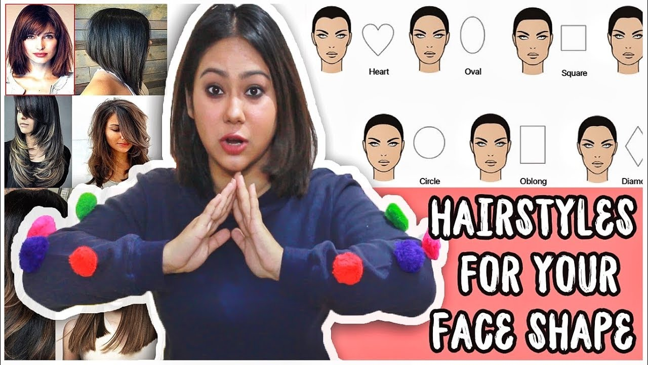 Best Haircut To Suit Your Face Shape Round Oval Heart Square How To Pick Thatquirkymiss