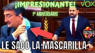 🔥SANTIAGO ABASCAL dijo al PNV lo que millones de españoles piensan / Un año de la Moción de Censura
