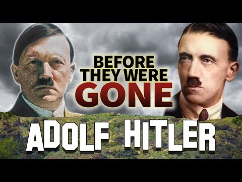 ADOLF HITLER  Before They Were GONE