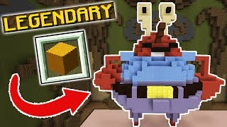 LEGENDARY MR. KRABS! (Minecraft Build Battle)