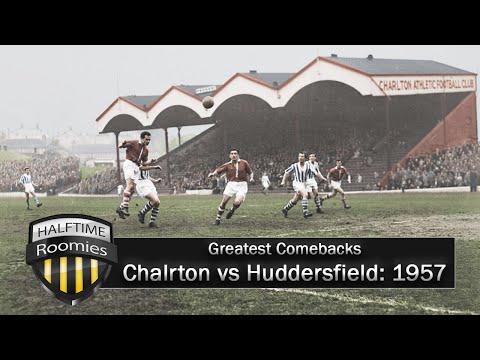 Greatest Comebacks: Charlton vs Huddersfield 1957   HalfTime Roomies