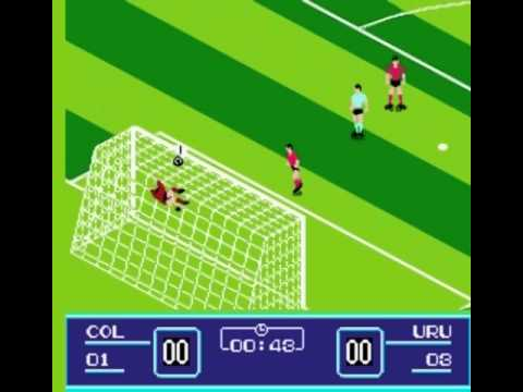 GOAL! 2 (NES Gameplay) aka Eric Cantona Football Challange - YouTube