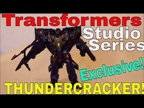 Transformers Studio Series TRU Exclusive Thundercracker - GotBot True Review NUMBER 415