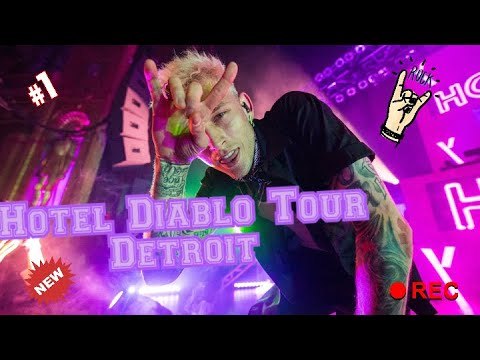 Machine Gun Kelly Hotel Diablo Tour Detroit Youtube