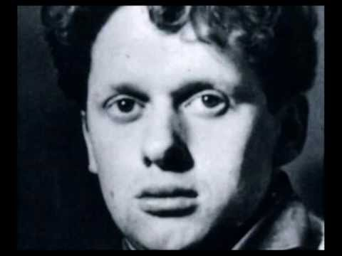 """Dylan Thomas reads """"Poem In October"""" and """"In My Craft or Sullen Art"""" - 1949 Columbia LP"""
