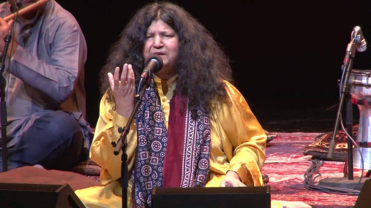 Abida Parveen in concert: Yaar ko Hamne ja Baja Dekha