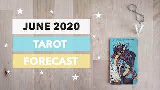 June 2020 Tarot Forecast- Beginnings and Endings, Good Luck & Manifestation 🧚