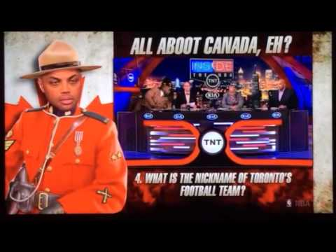 Charles Barkley Fails Canada Quiz