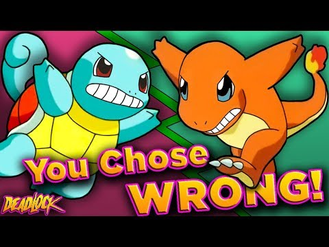 Thumbnail: Pokemon: Which Gen 1 Starter is TRULY THE BEST? - DeadLock