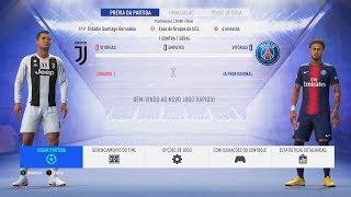 FIFA 19 TESTANDO A DEMO | JUVENTUS vs PSG UEFA Champions League